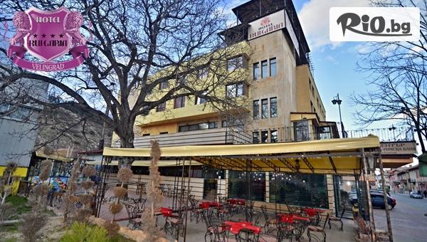 СПА почивка във Велинград! Нощувка със закуска и вечеря за Двама + басейн и релакс зона, от Хотел България