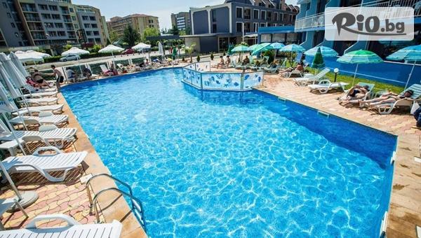 Септември в Слънчев бряг! Нощувка на база All Inclusive + басейн, шезлонг и чадър в Хотел Бохеми 3*