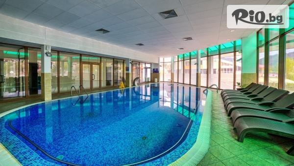СПА почивка в Девин! Нощувка със закуска + вътрешен басейн, сауна и термален басейн с Кнайп + безплатно за дете до 12 години, от Спа Хотел Девин 4*