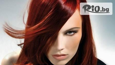 Боядисване, маска за коса и подстригване на връхчетата за 19 лв в Fashion Hair Studio