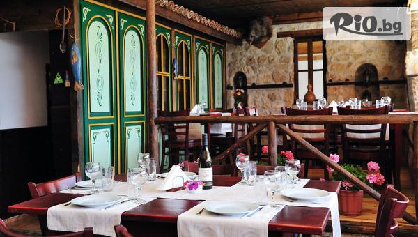 Релакс край Несебър през Май! 1, 2 или 3 нощувки със закуски и вечери /по избор/ + сауна, от Семеен хотел Ловна среща, само на 3 км от Слънчев бряг