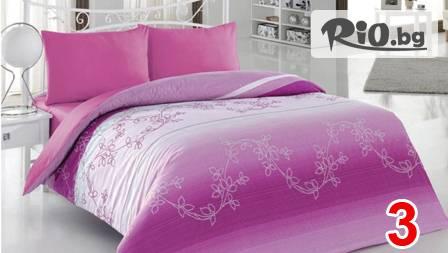Спален комплект 100% качествен памук за 22,99 лв. - модел и размер по избор от Шико - ТВ!