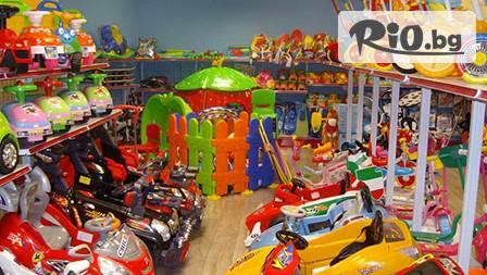 Детска играчка СМЕТОВОЗ за 7,20 лева от магазини