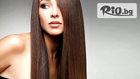 Ботокс терапия за коса и страхотна прическа по избор - права или букли само за 11.90 лв, от Студио за красота M-Fashion!