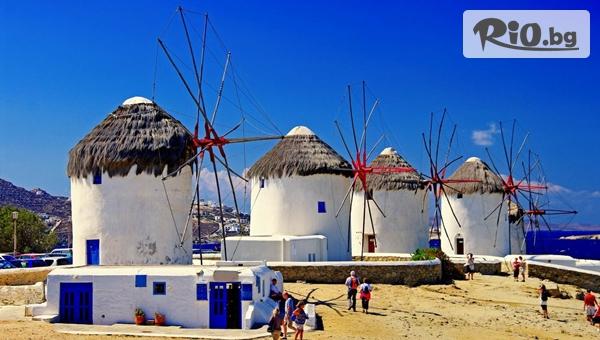 Великденски празници на кораб! 4-дневен All Inclusive круиз до Санторини, Микoнос, Патмос, Крит и Кушадасъ, от Океан Травел