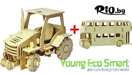 Екологични играчки от дърво