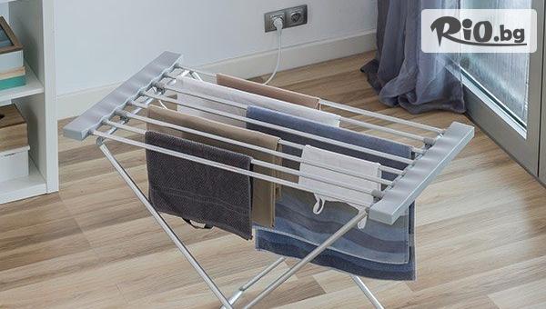 Удобен електрически сушилник за дрехи, от Topgoods.bg
