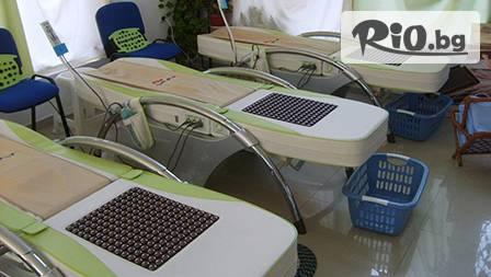 5 процедури масаж + нагряване на термомасажно легло Nuga Best за 6.90 лв.! Избор от нефрит или турманиева керамика!