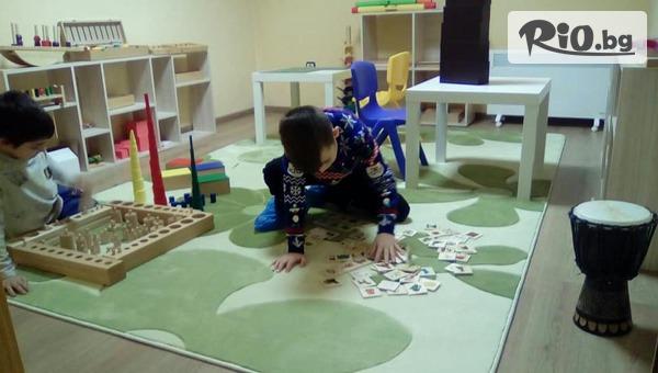 """Седмичен пакет за гледане на деца или Седмично обучение по метода Монтесори за дете от 2 до 7 години, от Детски център Монтесори """"Петте Елемента"""""""