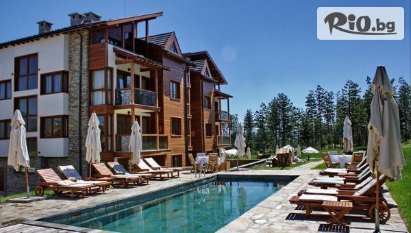 Луксозна почивка край Разлог! Нощувка със закуска и вечеря + СПА и басейни, от Апартаментен комплекс Пирин Голф 4*
