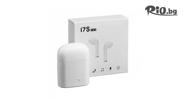 Безжични Bluetooth слушалки TWS I7S #1