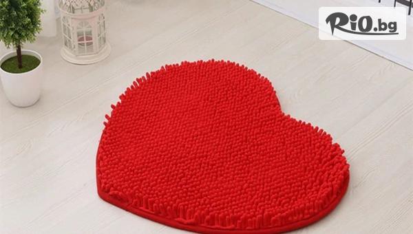 Постелка с формата на сърце - идеален подарък за всеки дом, от Topgoods.bg