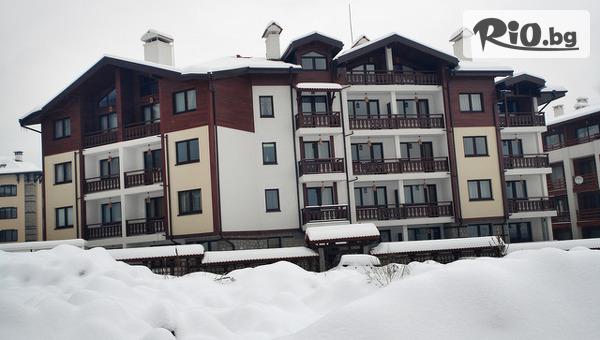 Зимна почивка в Банско! Нощувка в студио или едноспален апартамент + закрит басейн, сауна и парна баня, от Хотел Уинслоу Хайленд