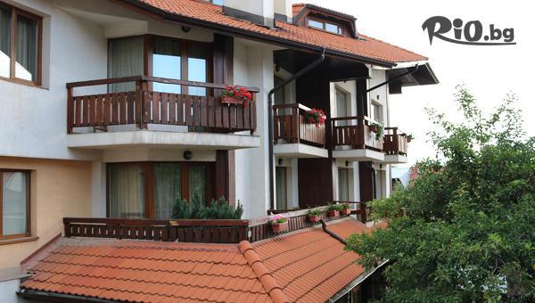 Почивка в Банско до края на Ноември! 3 нощувки със закуски в мезонет + сауна, от Хотел Кралев двор 3*