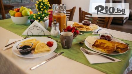 Релакс в Огняново! Нощувка със закуска + сауна + ползване на открито барбекю с прекрасна гледка, от House of Time