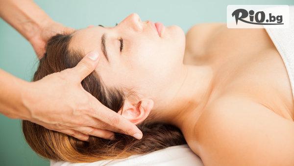 40-минутен Класически масаж на гръб, ръце и глава, от Салон за красота De luxe