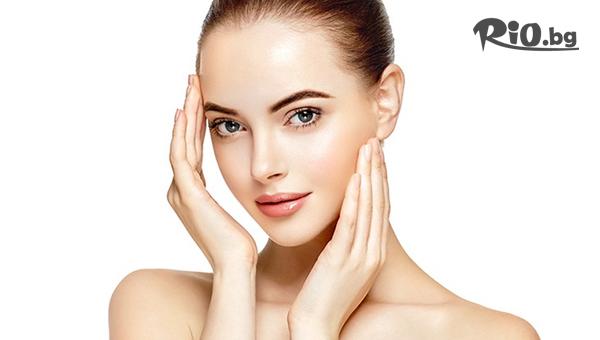 Кислородна терапия на лице + колаген, прополис и кофеин + почистване и масаж на лице с 50% отстъпка, от Салон Hairstyle Glamour