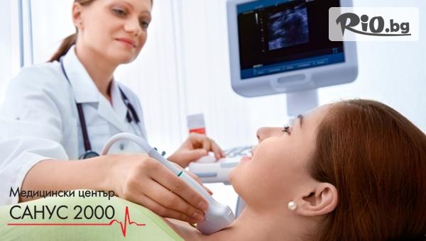 Ехография на щитовидна жлеза