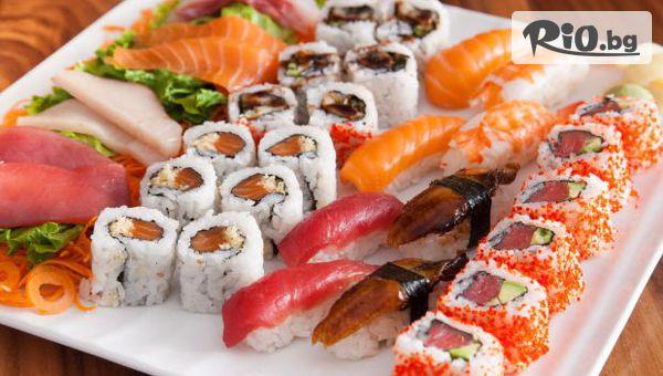 Суши сет Филаделфия с 50 хапки, 1120 г. за дома и офиса, от Sushi House