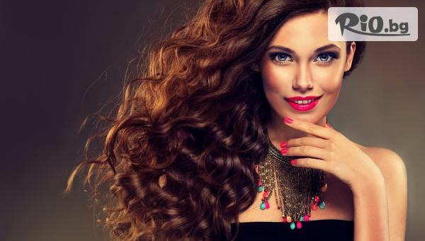 Тройна грижа за косата - терапия против косопад, маска и серум с арганово масло, изсушаване и оформяне, от Студио Антураж