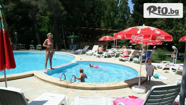На море на първа линия в Несебър! Нощувка на база All Inclusive + басейн, шезлонг, чадър + Безплатно за деца до 12г, от Парк Хотел Оазис
