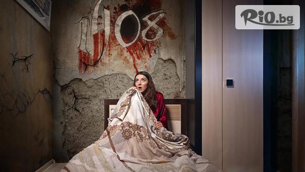 """Една игра в най-новата Ескейп стая на ужасите """"1408"""", базирана на едноименната история на Стивън Кинг, от Ескейп Стаи - Quest Siberia"""