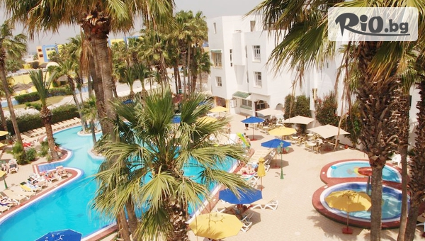 Почивка в Хамамет, Тунис през Септември! 7 нощувки на база All Inclusive в Hotel Nesrine + самолетен транспорт и летищни такси, от Онекс Тур