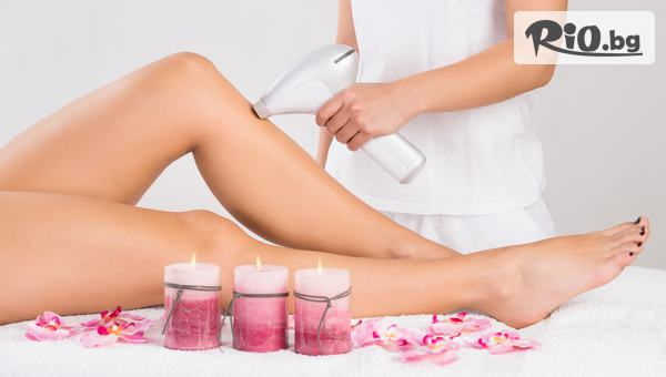 Една процедура Фотоепилация за жени на зона половин крака (глезен - коляно), от Студио за красота Феникс