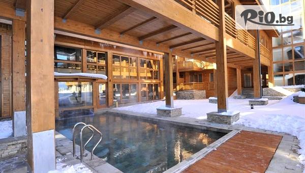 Луксозна Ски почивка край Банско през Декември! Нощувка със закуска и вечеря + СПА, басейни и трансфер до ски писти, от Пирин Голф Хотел andamp;СПА 5*