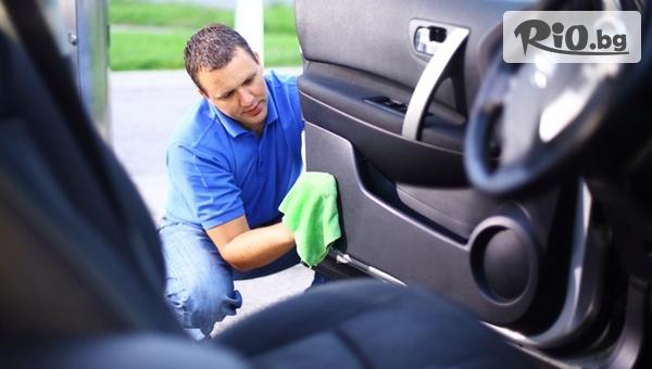 Чистота за автомобила! Машинно пране и подсушаване на салона на лек автомобил + подарък, от Автомивка Митев