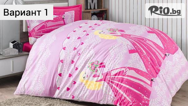 Нови десени на детски спални комплекти от ранфорс за единично легло, от Фирма Шико - ТВ