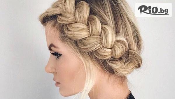 Масажно измиване на коса + оформяне на прическа или подстригване, от BEAUTY SALON DESISLAVA