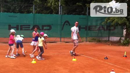 Цял ден забавления и спорт! Целодневен детски тенис лагер, от Тенис кортове Раковски