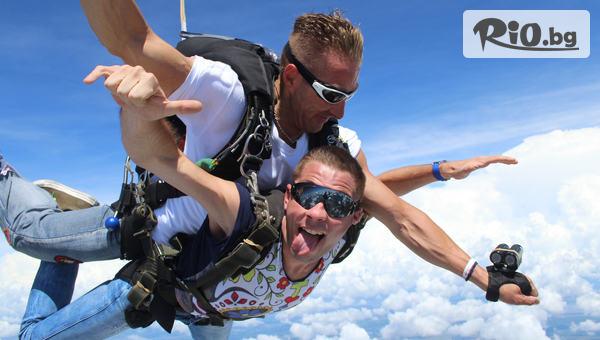 Тандемен парашутен скок #1