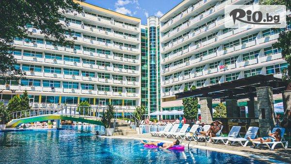 На море Слънчев бряг на 3 минути от плажа! All inclusive нощувка + басейн, шезлонг и чадър + Дете до 12г - Безплатно, от Гранд Хотел Оазис