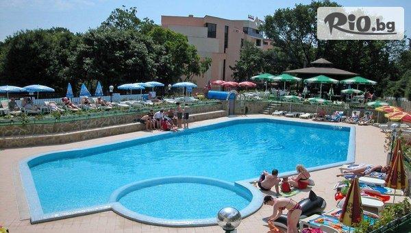 Късно лято на 200 метра от плажа в Златни пясъци! All Inclusive нощувка + басейни и СПА, от Хотел Шипка