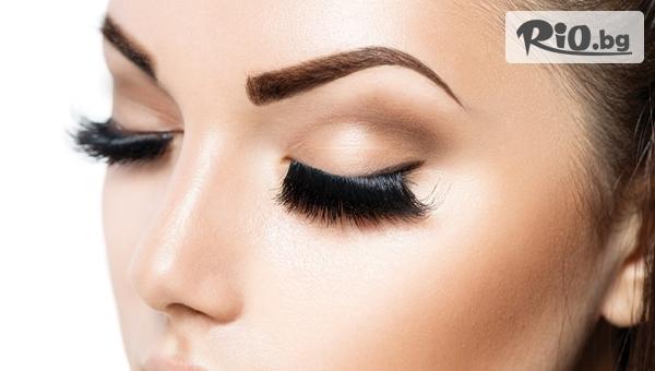 Удължаване и сгъстяване на мигли - косъм по косъм или 3D, от Салон за красота Fabio Salsa
