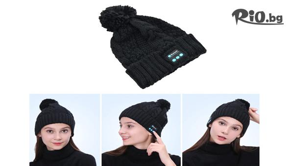 Музикална шапка с Bluetooth #1