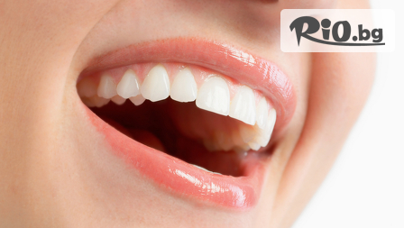 Обстоен професионален преглед + почистване на зъбен камък и зъбна плака с ултразвук + полиране на зъбите с Airflow, от Д-р Биляна Минкова