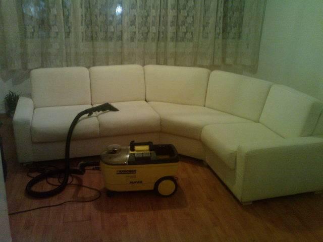 Професионално машинно изпиране и подсушаване на дивани, фотьойли, матраци, килими,мокети, пътеки-на адрес  Галерия #4