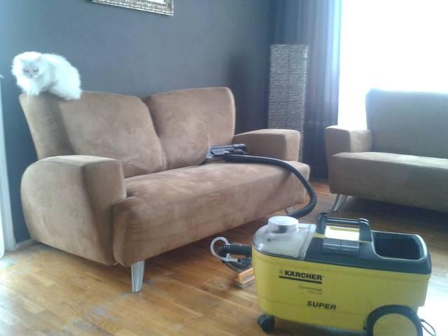 Професионално машинно изпиране и подсушаване на дивани, фотьойли, матраци, килими,мокети, пътеки-на адрес  Галерия #1