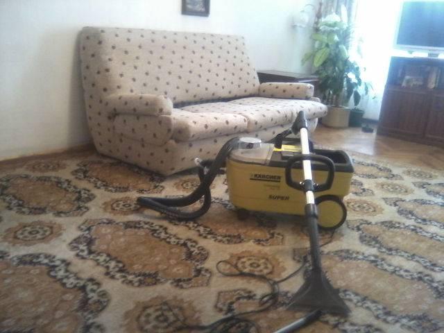 Професионално машинно изпиране и подсушаване на дивани, фотьойли, матраци, килими,мокети, пътеки-на адрес  Галерия #5